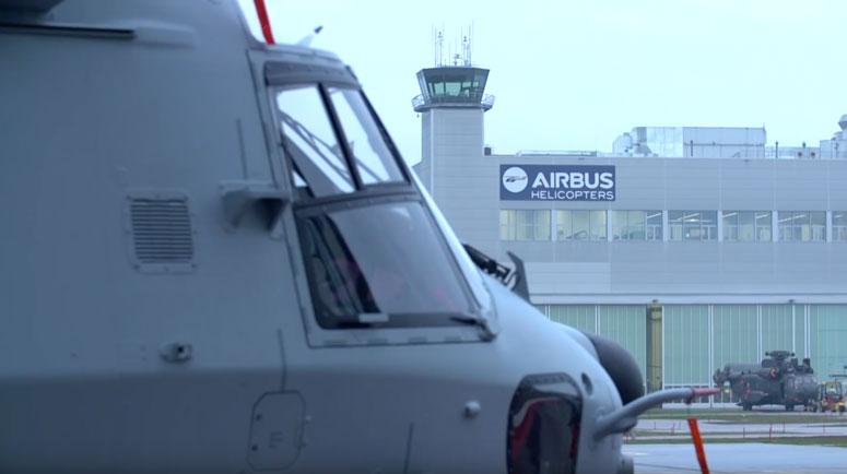 Erste NH90 FMV