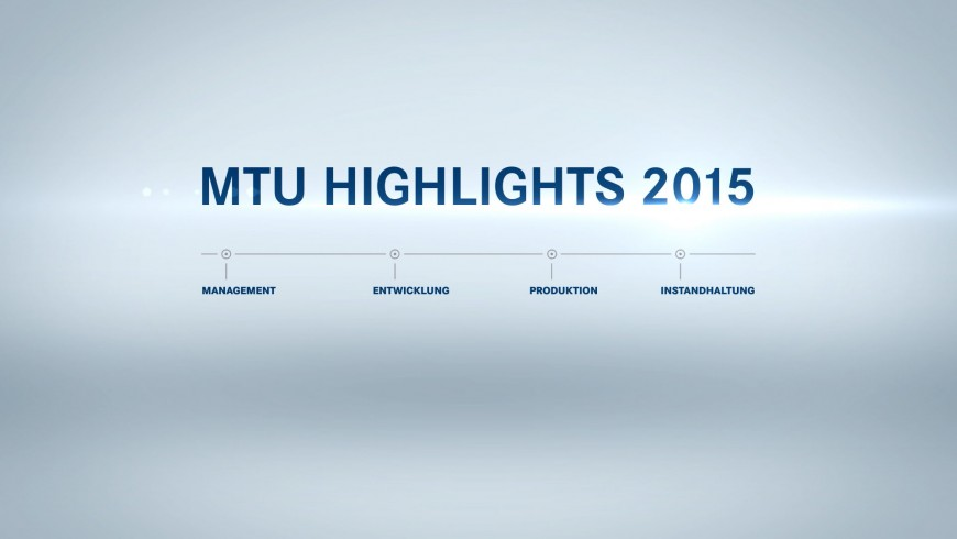 MTU Highlights 2015
