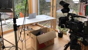 Interviewdreh am Schliersee